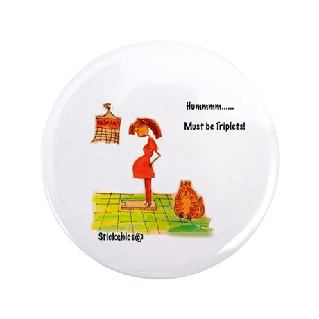 "Maternity 3.5"" Button (100 pack)"