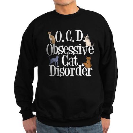 Obsessive Cat Disorder Sweatshirt (dark)