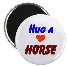 Hug a Horse Magnet