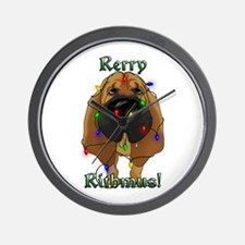 Bloodhound - Rerry Rithmus Wall Clock