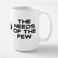 Spock: The Needs of the Many Large Mug