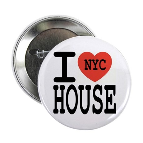 I Love NYC House Button