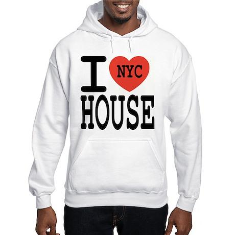 I Love NYC House Hooded Sweatshirt