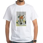 Samurai Warrior Oda Nobunaga White T-Shirt