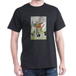Samurai Warrior Oda Nobunaga (Front) Dark T-Shirt