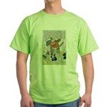 Samurai Warrior Oda Nobunaga (Front) Green T-Shirt