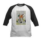 Samurai Warrior Oda Nobunaga Kids Baseball Jersey