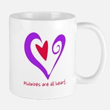 Midwives are All Heart - Purp Mug