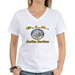 B.I.A. Justice Services Women's V-Neck T-Shirt