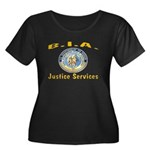 B.I.A. Justice Services Women's Plus Size Scoop Ne