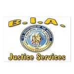 B.I.A. Justice Services Postcards (Package of 8)