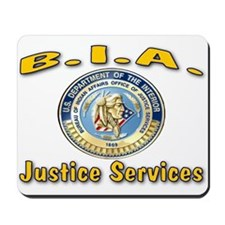 B.I.A. Justice Services Mousepad
