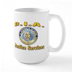 B.I.A. Justice Services Large Mug