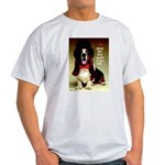Dog Wants To Go Out! Ash Grey T-Shirt