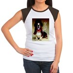 Dog Wants To Go Out! Women's Cap Sleeve T-Shirt