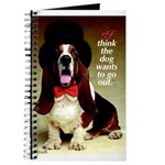 Dog Wants To Go Out! Journal