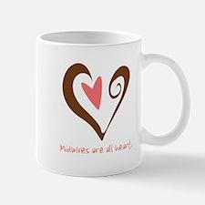 Midwives All Heart - Brown Mug