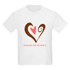Midwives All Heart - Brown T-Shirt