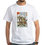Samurai Warrior Imagawa Yoshimoto White T-Shirt