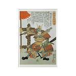 Samurai Warrior Imagawa Yoshimoto Rectangle Magnet