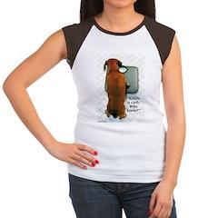 Kibble Is Carb Women's Cap Sleeve T-Shirt
