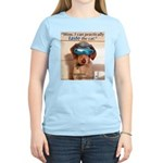 I Can Taste The Cat! Women's Pink T-Shirt