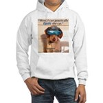 I Can Taste The Cat! Hooded Sweatshirt