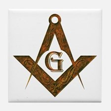 Masonic Antient F&AM Tile Coaster
