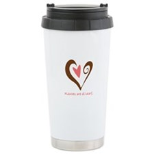 Midwives All Heart - Brown Travel Mug