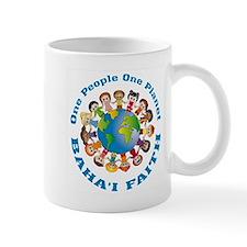 One people One planet Baha'i Mug
