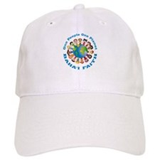 One people One planet Baha'i Baseball Cap