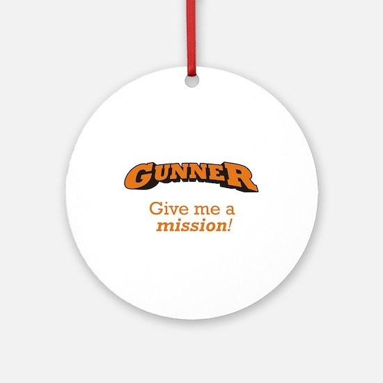 Gunner - Mission Ornament (Round)
