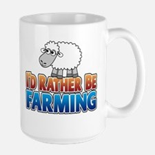 Cartoon Farmville Sheep Mug