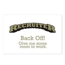 Recruiter - Back Off Postcards (Package of 8)