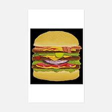 Cheeseburger king Decal