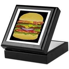 Cheeseburger king Keepsake Box