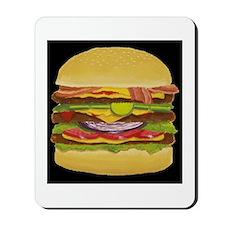 Cheeseburger king Mousepad
