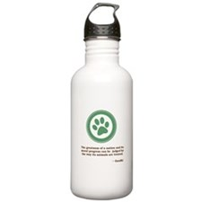 Gandhi Green Paw Sports Water Bottle