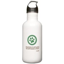 Gandhi Green Paw Water Bottle