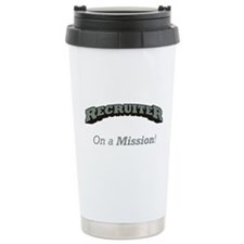 Recruiter - On a Mission Travel Mug