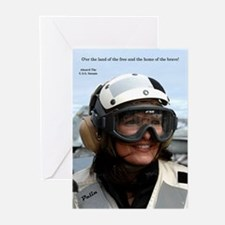 Funny Hockey moms Greeting Cards (Pk of 10)
