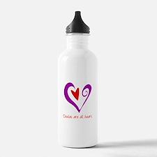 Doulas All Heart Purple Water Bottle
