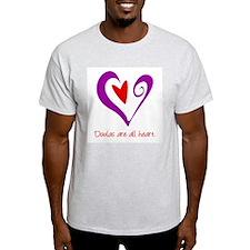 Doulas All Heart Purple T-Shirt