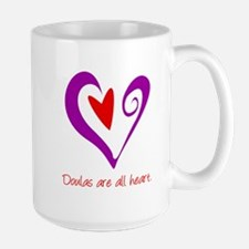 Doulas All Heart Purple Mug