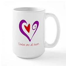 Doulas All Heart Purple Mug