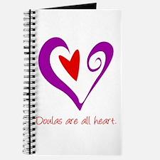 Doulas All Heart Purple Journal