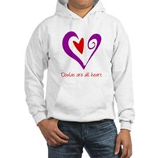 Doulas All Heart Purple Hoodie