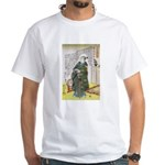 Warrior Takenaka Hanbee Shigeharu White T-Shirt