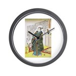 Warrior Takenaka Hanbee Shigeharu Wall Clock