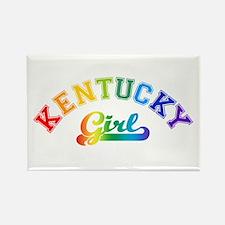 Kentucky Girl Rectangle Magnet